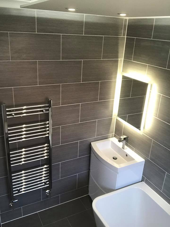 bathroom installation in Worthing