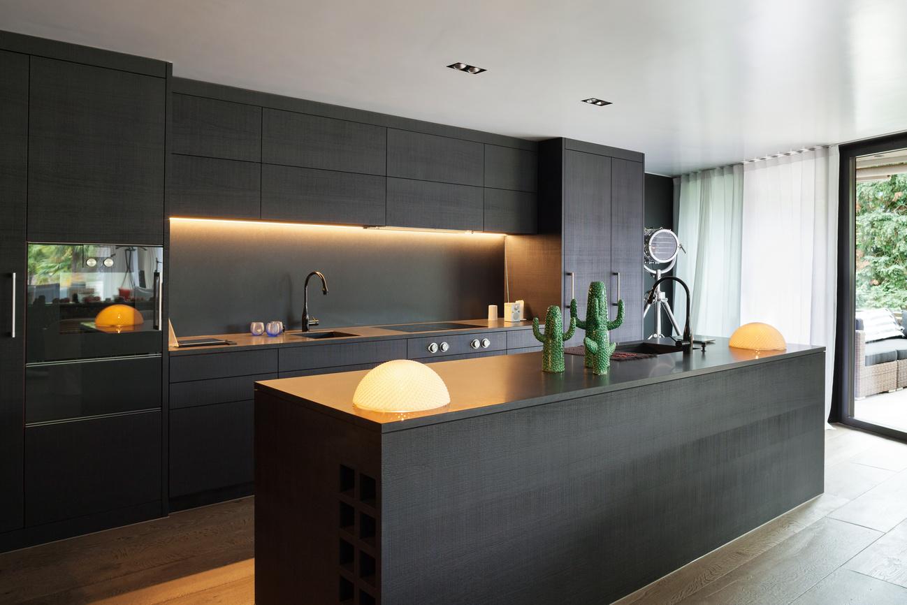 modern kitchen design and fitting